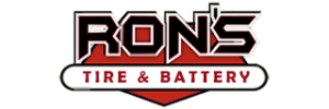 Ron's Tire and Battery logo